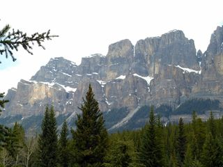 Castle Mountain, Bow Valley Parkway, Alberta, Canada