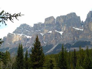 Castle Mountain, Bow Valley Parkway, Alberta, Canada
