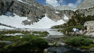 Gem Lakes, Little Lakes Valley, John Muir Wilderness, Inyo National Forest