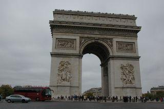 Arc de Triomphe, Place de l'Etoile, Paris, France