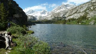 Long Lake, Little Lakes Valley, John Muir Wilderness, Inyo National Forest