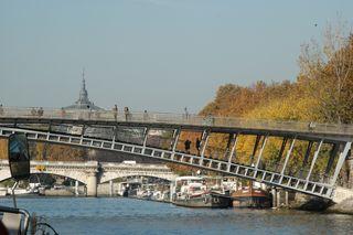 Paris frm the Seine, Paris, France