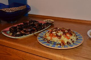 Quail Kebab and Jeweled Rice from Food of Life