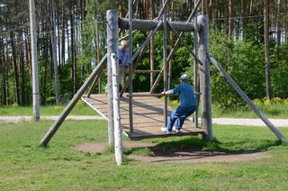Swinging in Estonia