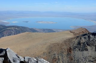 Mono Lake from Mt. Dana