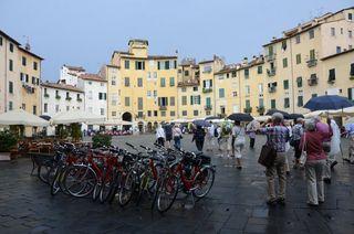 Piazza Anfiteatro, Lucca, Italy