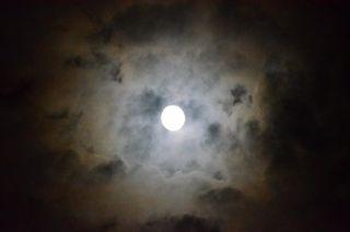 Moon, Abbaccá-la, Lucca, Tuscany, Italy