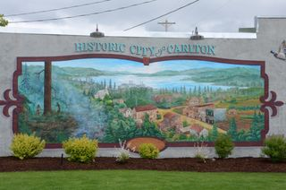 Mural, Carlton, Oregon