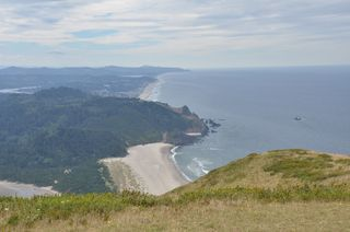 Looking South from Cascade Head, OR