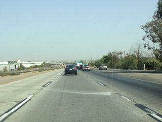 Hazy Skies on Highway 99