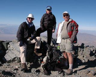 On the Summit of Telescope Peak