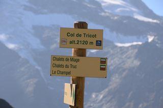On the Tour du Mont Blanc
