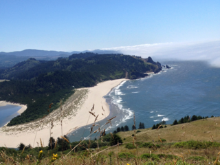Looking south from Cascade Head