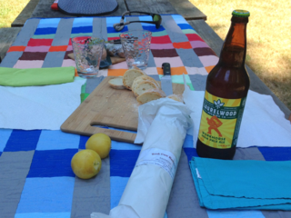 The Picnic Quilt has an airing