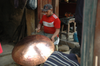 Metal work, Fez, Morocco