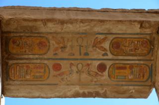 Detail, Roof, Hypostyle Hall, Karnak Temple
