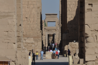 Unfinished gate, Karnak Temple