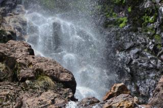 Detail, Montezuma Falls, Tasmania