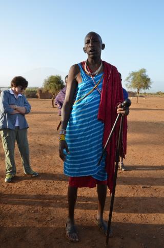 Maasai Chief Joseph