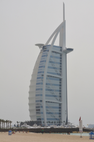 rBurj Al Arab, Seven-Star Hotel, Dubai