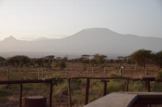 Mt. Kilimanjaro from Sentrim Amboseli Lodge
