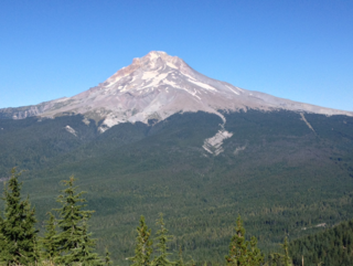 Mt. Hood from Tom Dick and Harry summi