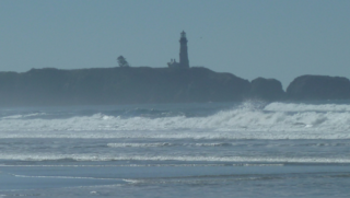 Yaquina Head from Moolack Beach