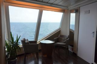 Cozy nook in the Yacht Club, Star Pride