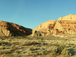 Red Rock Canyon, Highway 14