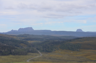 From Cradle Mountain Viewpoint, Tasmania